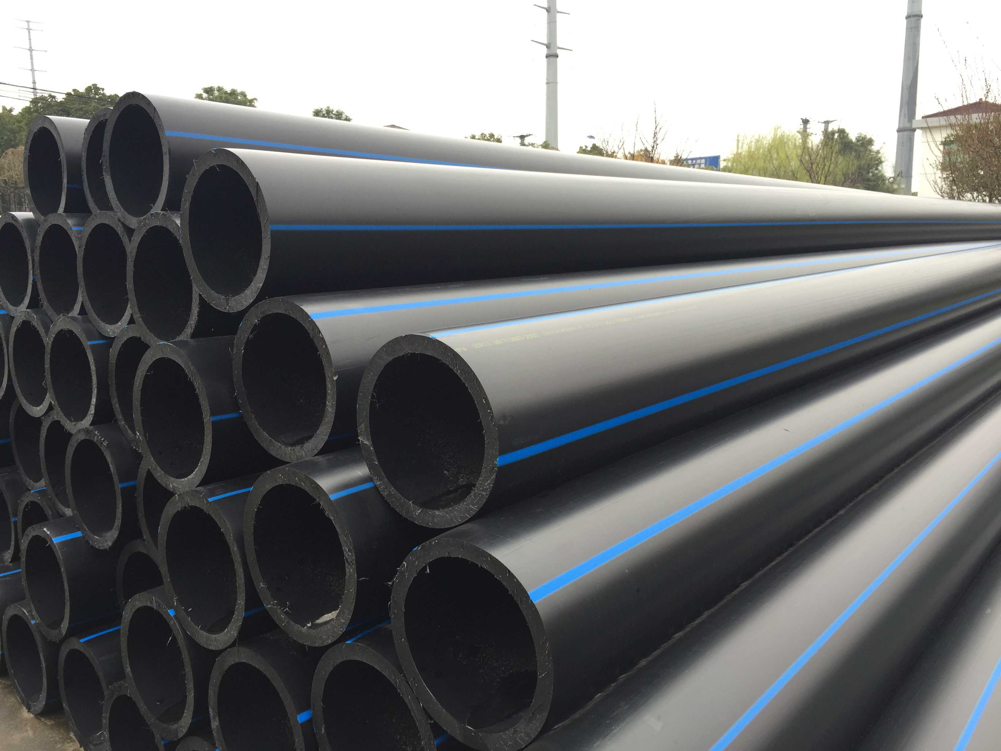 China HDPE Pipe/HDPE Gas Pipe/HDPE Pipe For Gas /PE100