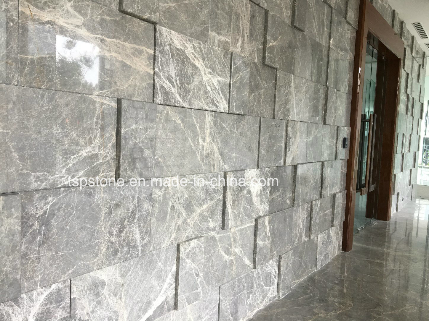China Natural Stone Marble Slab Wall