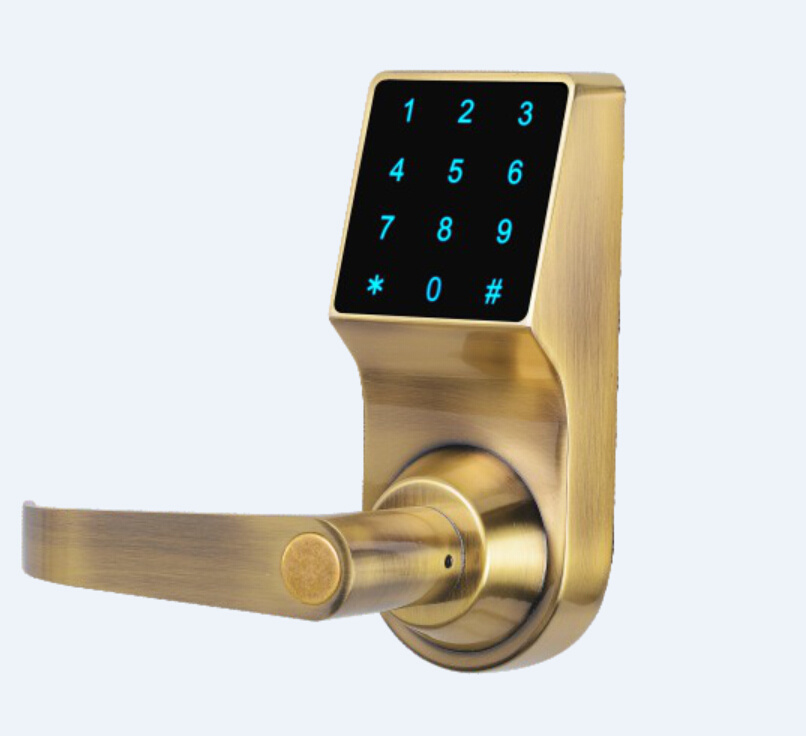 Style Of China Modern Hotel High Security Electronic Door Lock Digital Card Password Open Smart Lock China Lock Digital Lock Photos - Beautiful high security door locks Simple Elegant