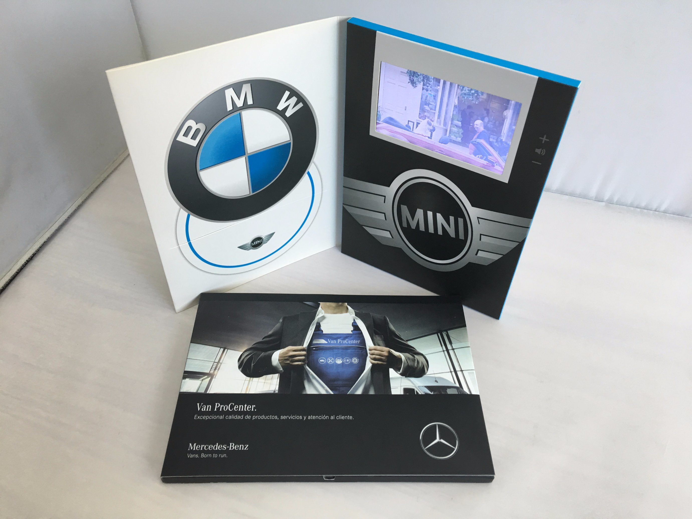 "Factory Custom 7"" LCD Player Business Marketing Video Brochure Card"