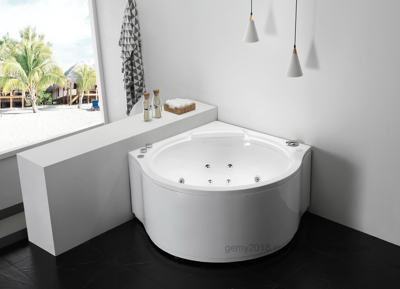 China Bath Bathtub with Massage Jet Bath Tub - China Massage Bathtub ...