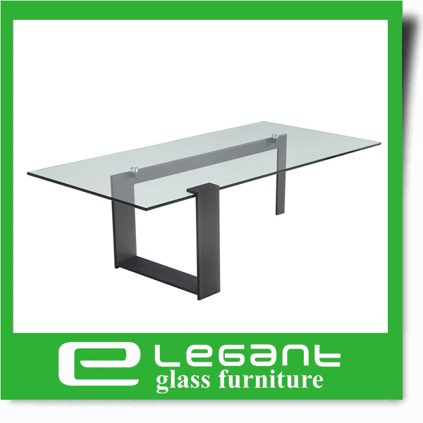 Contemporary Round Grey Tempered Glass Center Table With Stainless Steel  Base