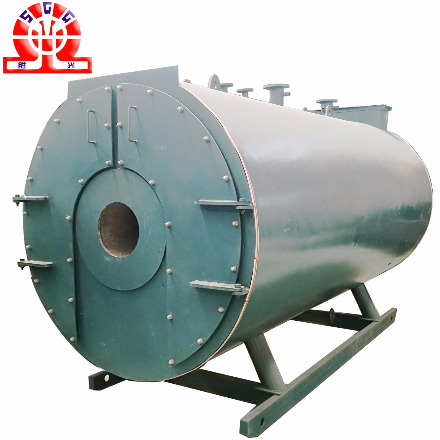 China Three Return Trip Gas Hot Water Boiler for Supply Heating ...