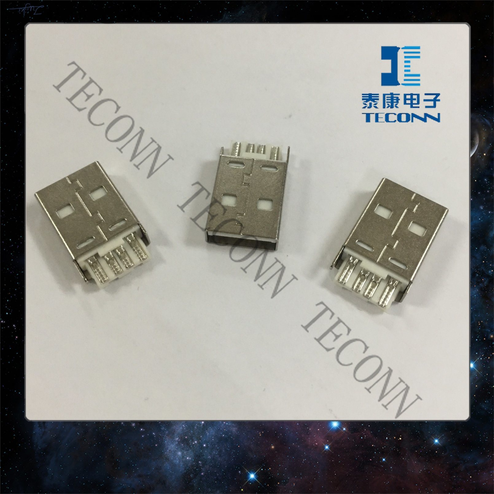 China USB 3.0 Standard - a Receptacle A1s97m - China Connector, USB
