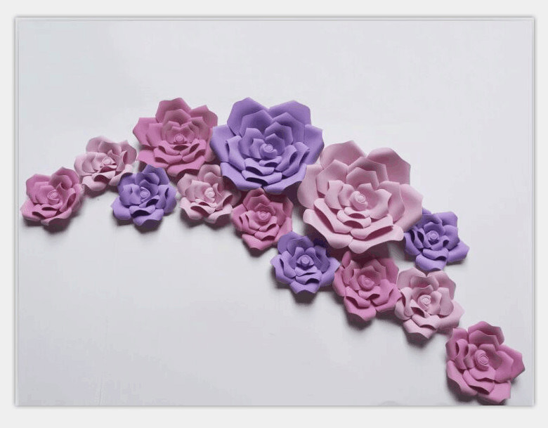 China Wholesale Supplier Foam Paper Flower Artificial Flower - China ...