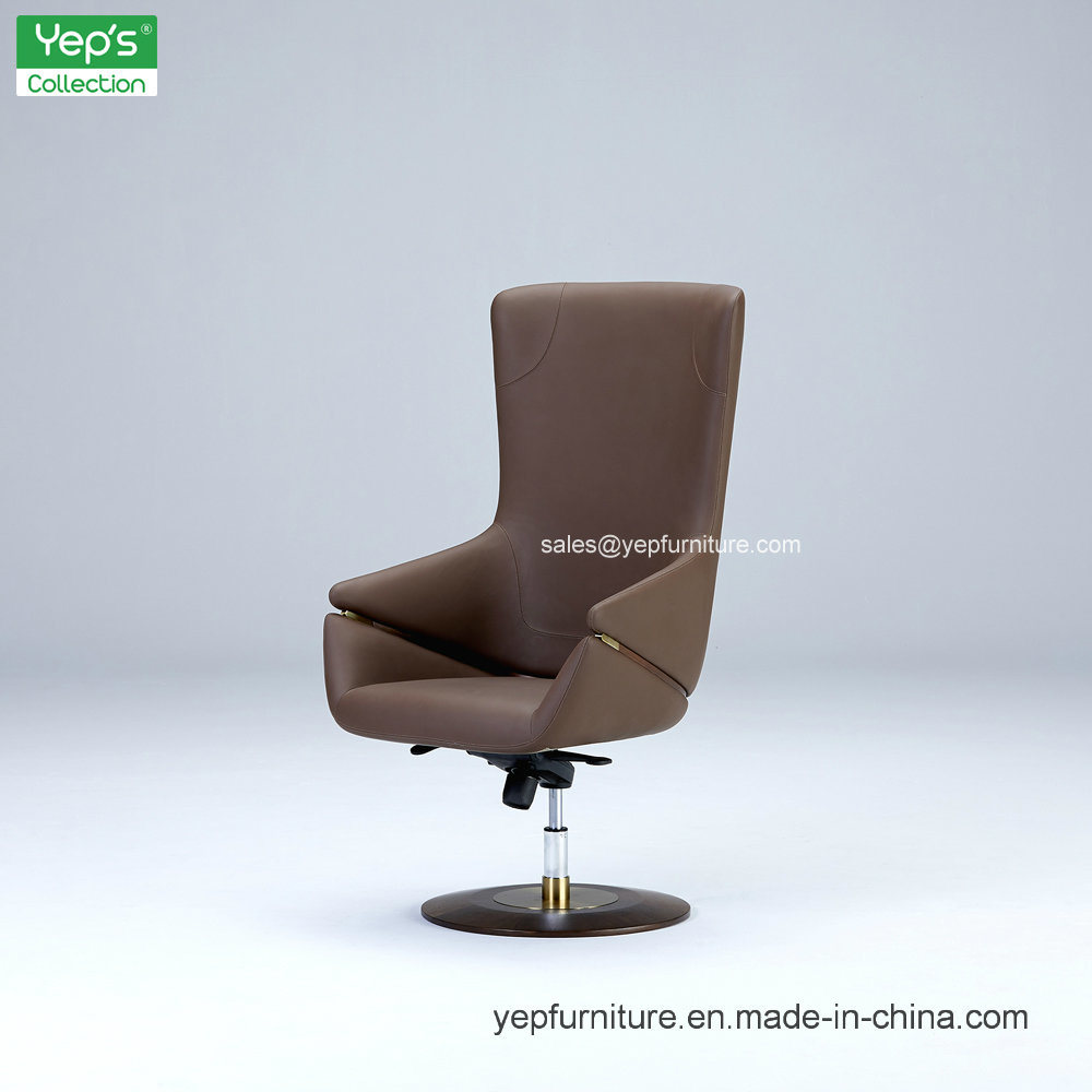 China Home Office Furniture Rotated Microfiber Leather Boss Chair Ys083 Lounge