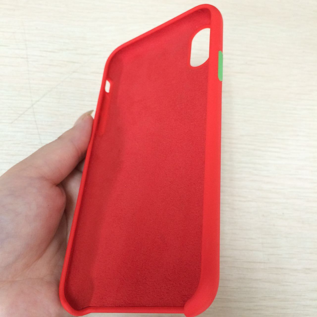 new product d0ed3 97560 [Hot Item] Shockproof LSR Phone Cover Liquid Silicone Phone Case for iPhone  8