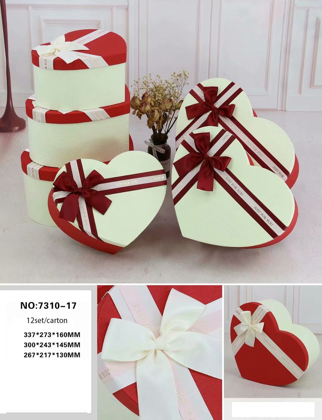 Hot Item Exquisite Heart Gift Boxes Sweet Boxes Birthday Chocolate Box Candy Box