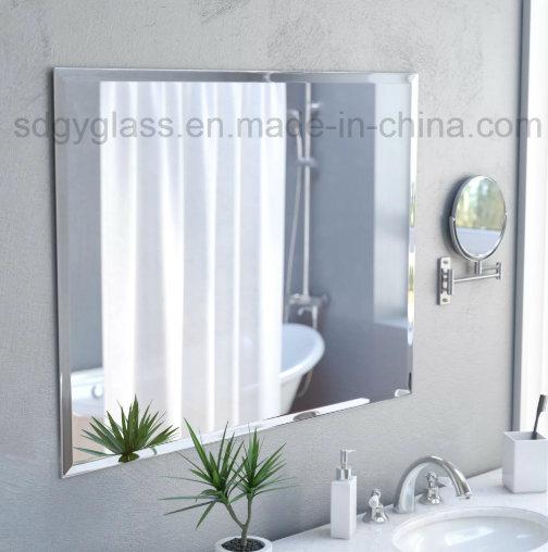 Frameless Rectangle Aluminum Mirror