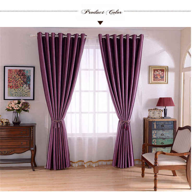 China High Quality Cheap Polyester Blackout Latest Curtain