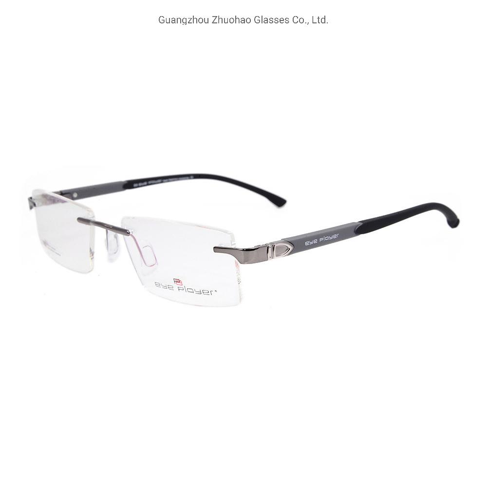 8deb0fde9191 China 2019 New Fashion Design Tr90 Rimless Factory Custom Eyeglasses Metal Eyewear  Optical Frames for Men - China Eye Glasses, Eyewear Frame