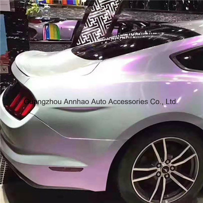 China Glossy Pearl Candy Chameleon Magic Grey Purple Car
