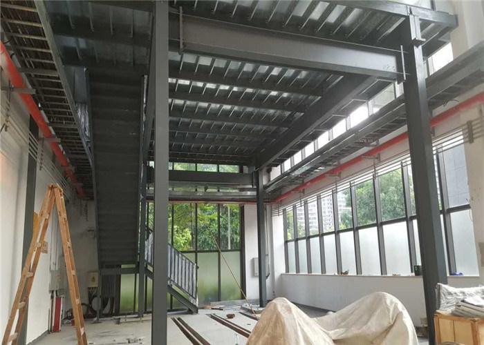 China High Loading Capacity Light Steel Structure Mezzanine Floor Platform Garage Warehouse