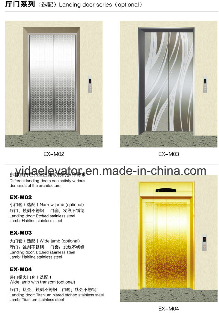 Gearless Passenger Elevator From Professional Manufacturer pictures & photos