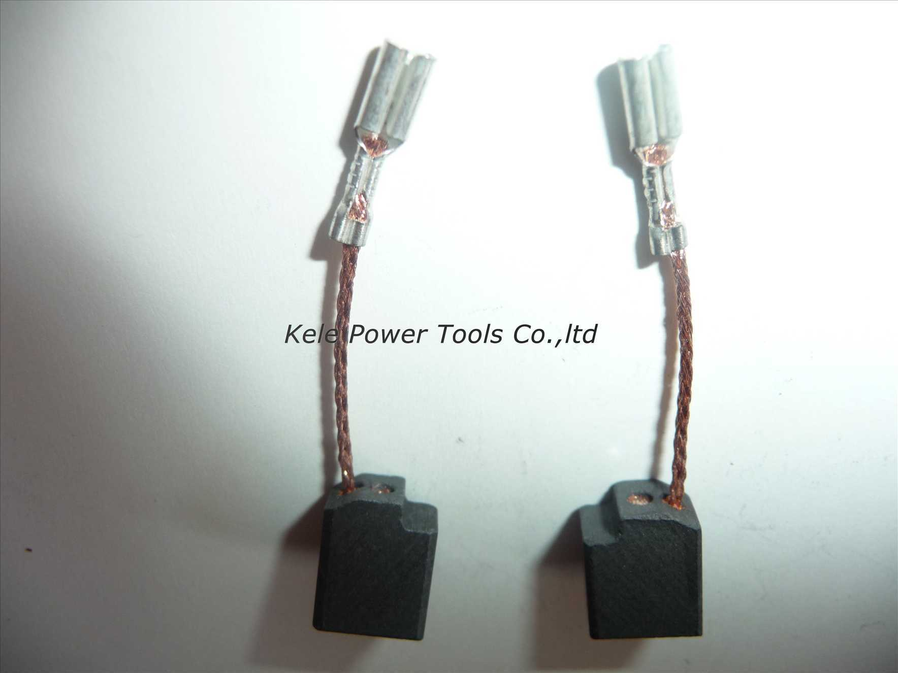 Power Tool Accessories, Graphite Carbon Brushes (CB107)