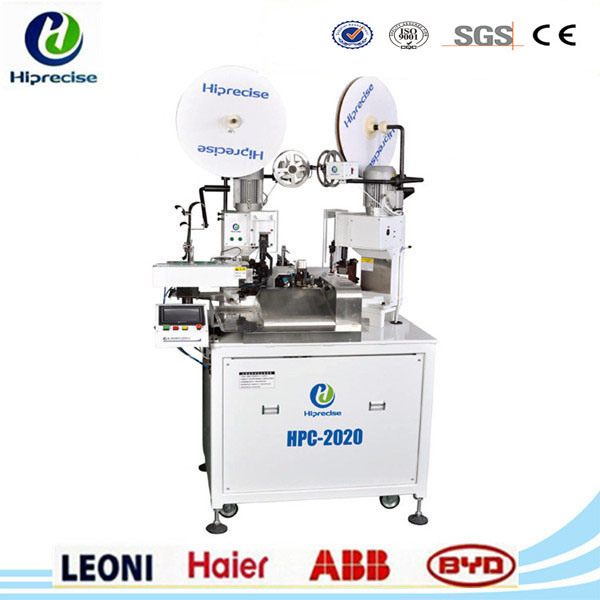 China Automatic Wire Harness Terminal Stripper Crimping Cutting Machine  Hpc-2020