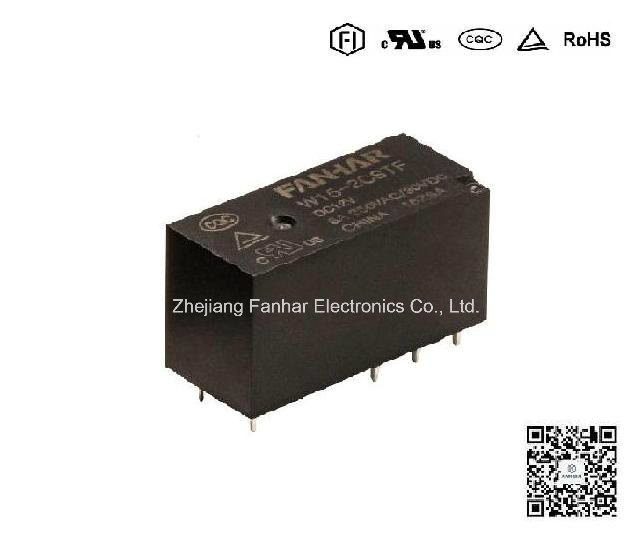 Relay maximum switching voltage