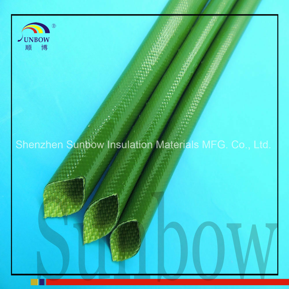 China 1.5kv Silicone Fiberglass Sleeving for Wire Harness of AC ...