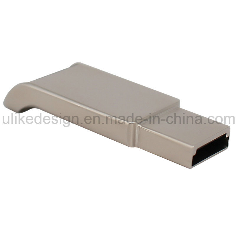 Simple Design Metal USB Flash Drive (UL-M015) pictures & photos