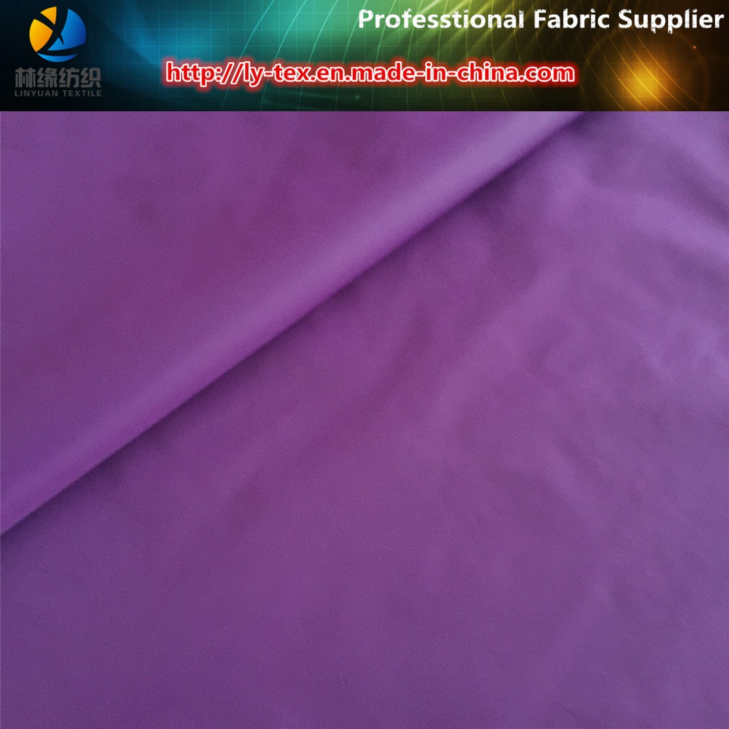 310t Nylon Taffeta, 40d*40d Nylon Fabric with Calendering for Down Jacket pictures & photos