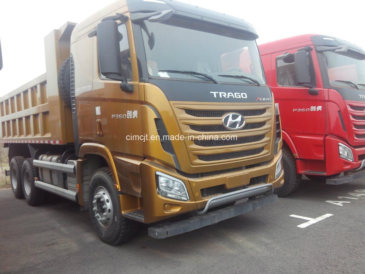 China New Hyundai Xcient 6x4 Heavy Truck With Best Price