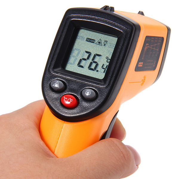 GM320 Digital Infrared Thermometer Non Contact Infrared Thermometer IR Laser Point Gun -50~330 Degree