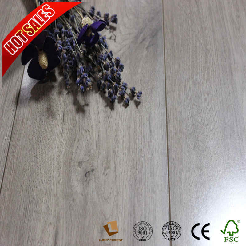 China High Quality 12mm 8mm Top Laminate Flooring Brands Um Embossed Hardwood Building Material