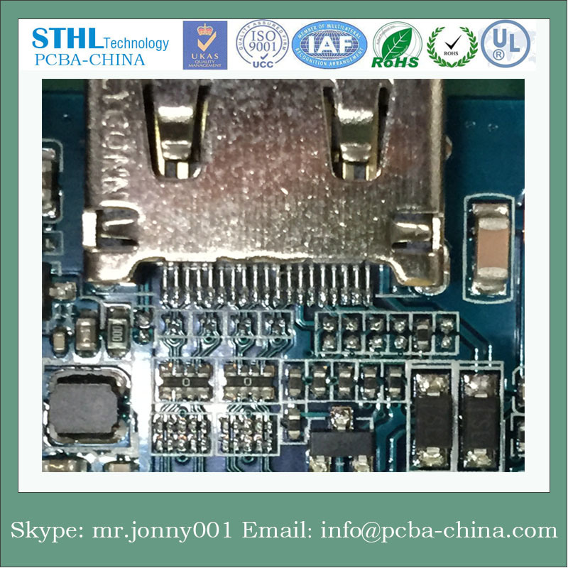 Multilayer PCBA Android Mobile Phone Motherboard From Shenzhen SMT pictures & photos