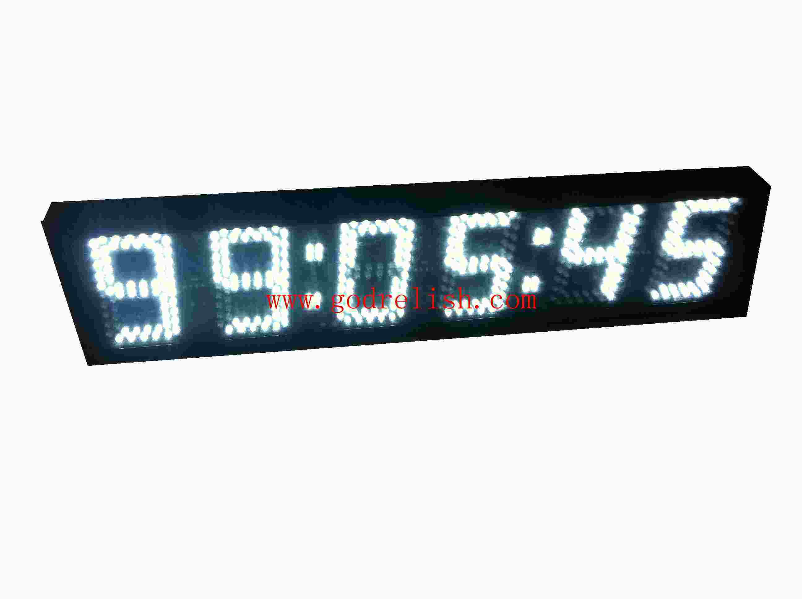 China Godrelish 5 Led Digital Wall Clock Countdown Timer 1224 Hour