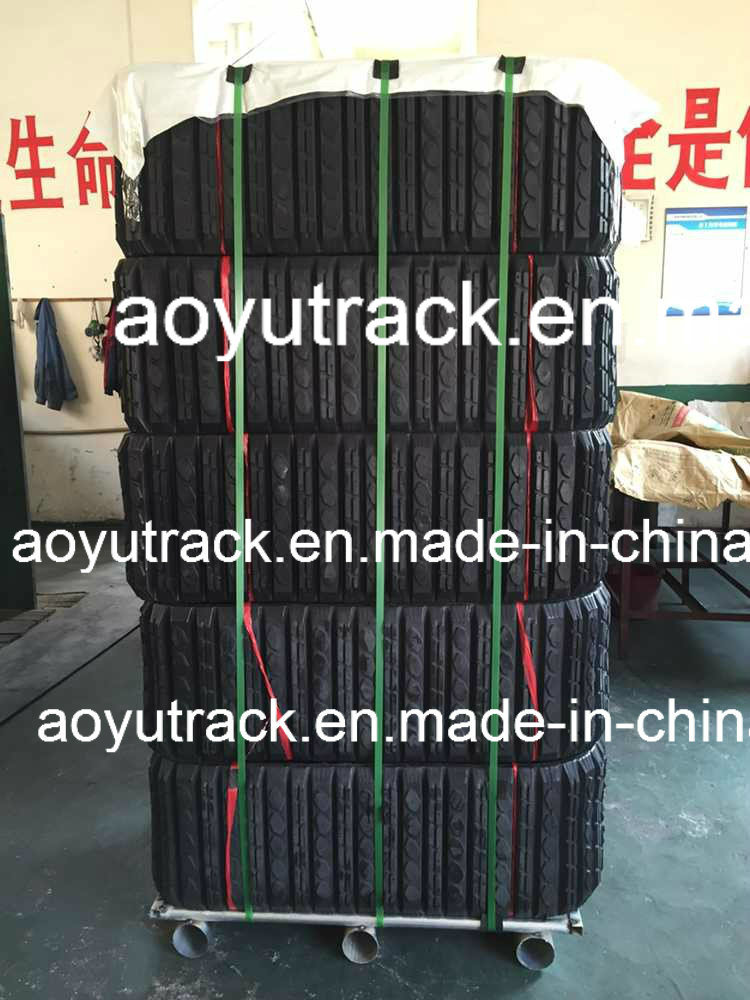 Rubber Track for Caterpillar 247b Loader pictures & photos