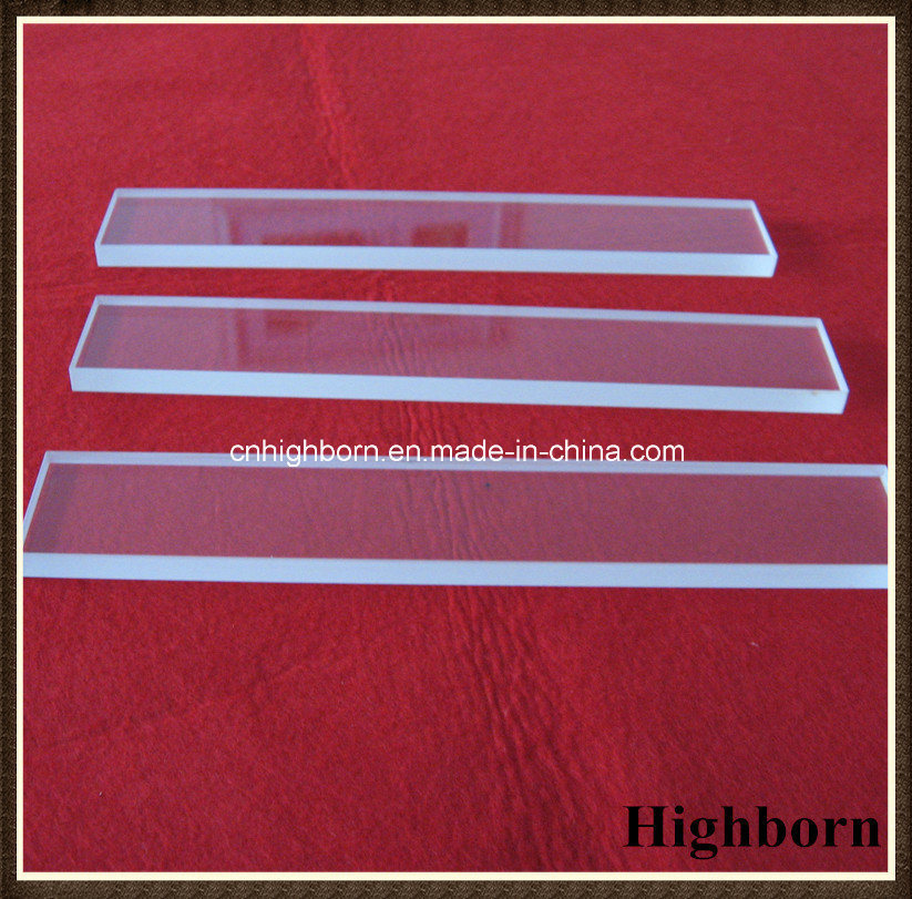 Clear Square Polished Silica Quartz Glass Plate pictures & photos