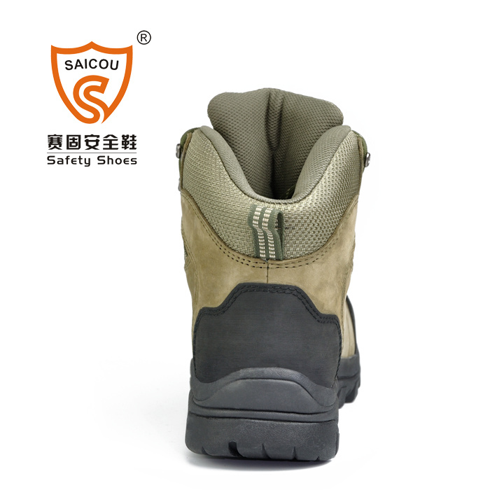 0a39c724d73b8 High Ankle Steel Toe Fire Resistant Executive Climbing Safety Boots Sc-2218