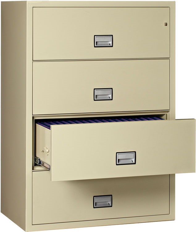 China 4 Drawer Legal Size Horizontal File Cabinet