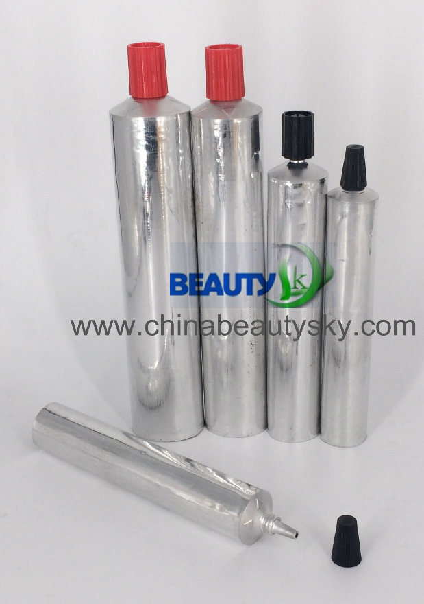 Aluminum Color Oil Painting Glues Adhesive Packaging Cream Empty Aluminum Collapsible Tube
