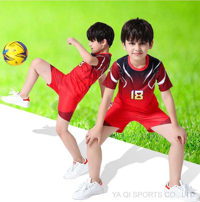 d3332fa62 Hot Sale Sublimation Football Uniform OEM Custom Cheap Soccer Jersey Kids  Sets