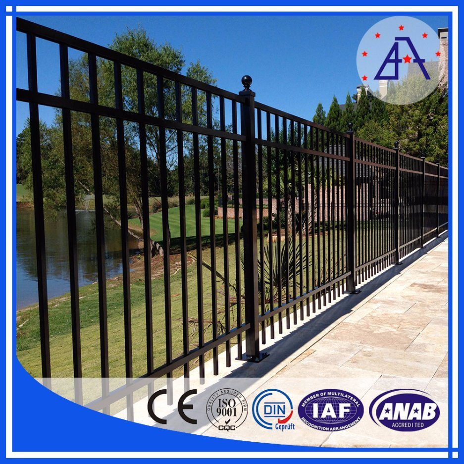 China As2047 Standard Aluminum Swimming Pool Fence/Aluminum Garden Fence    China Aluminum Fence, Aluminum Fencing