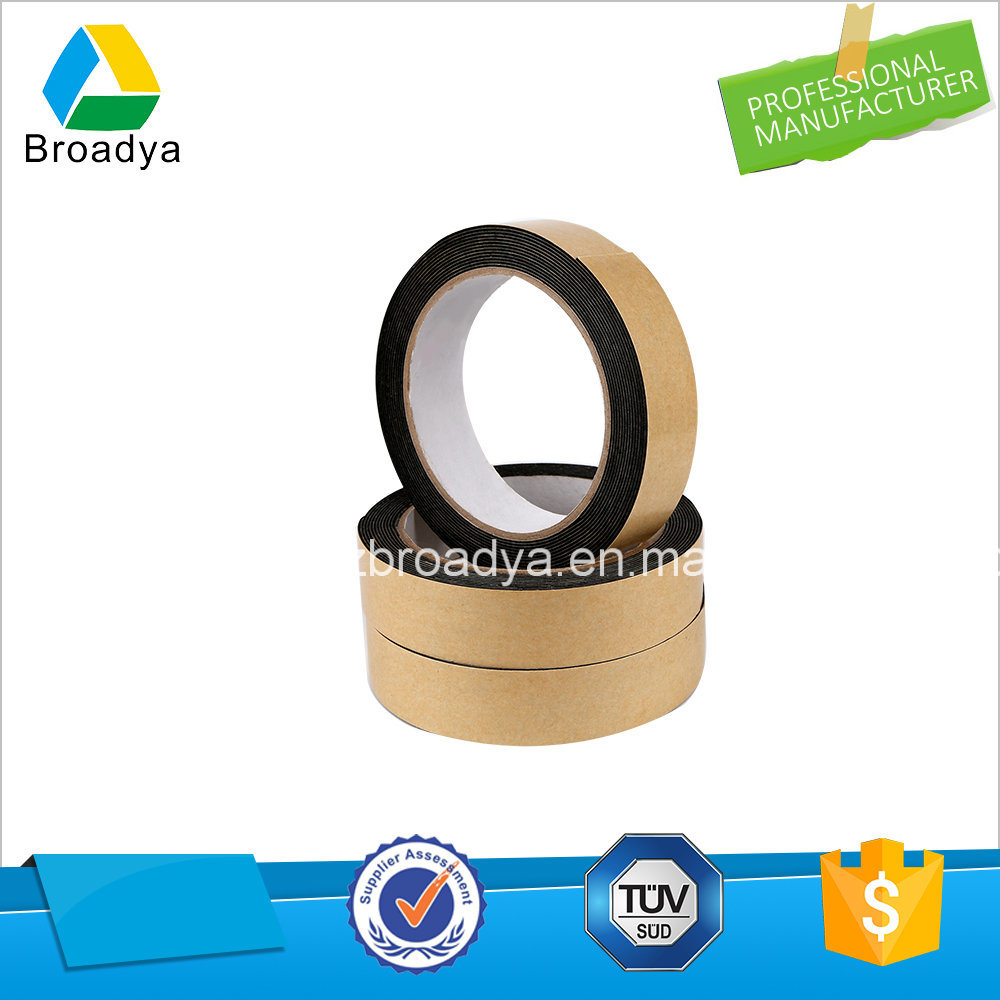 Double Sided PE Foam Jumbo Rolls Adhesive Tape (BY1010) pictures & photos