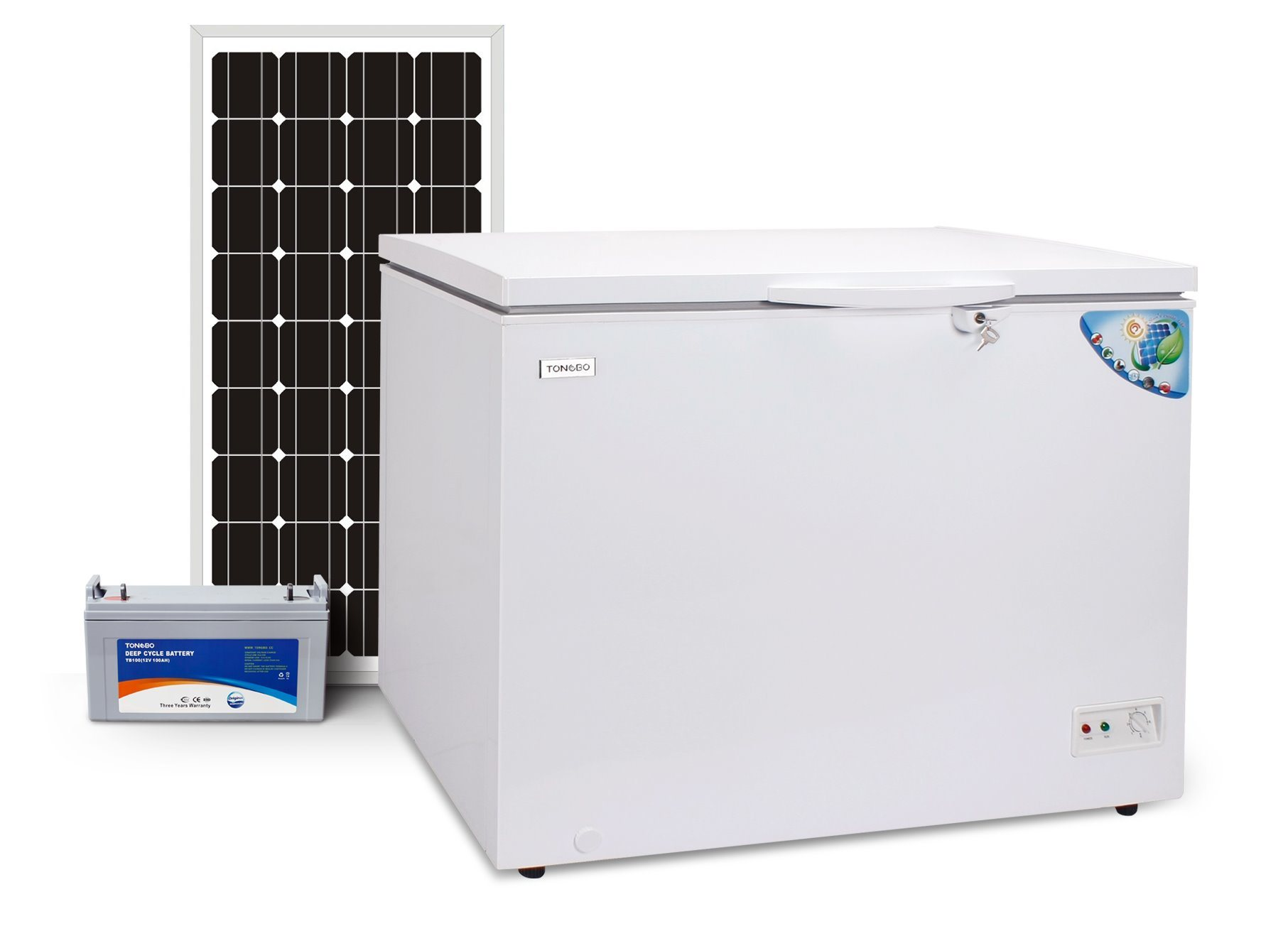 DC 12V 24V Solar Freezer Commercial Chest Freezer 230L