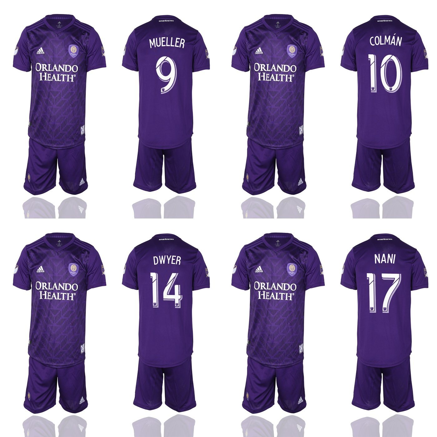 premium selection c142b 26e64 [Hot Item] Orlando City Mueller Colman Dwyer Nani Kljestan Patino Soccer  Jerseys
