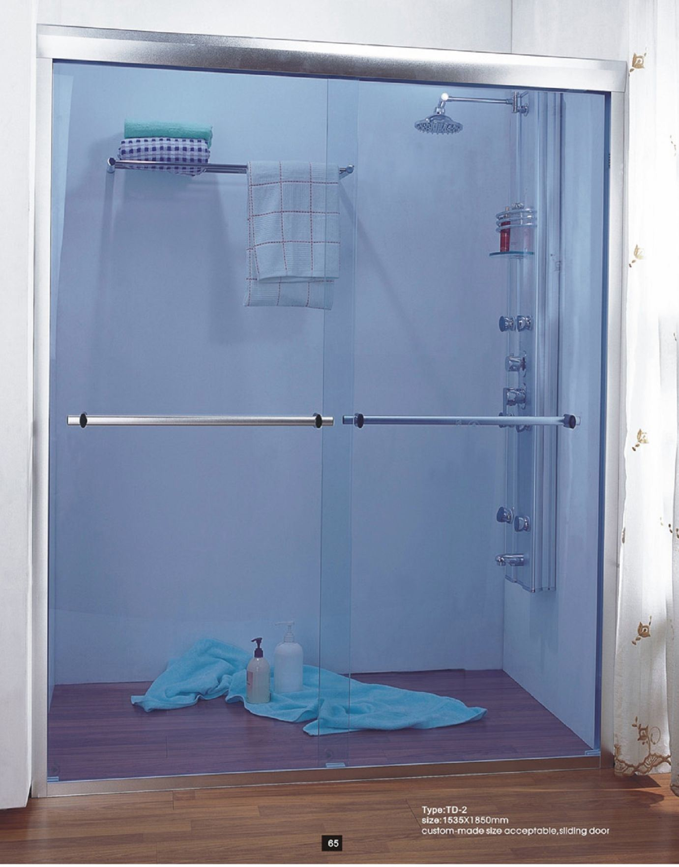 China Tinted Glass Shower Door (TSD-038) - China Tinted Glass Shower ...