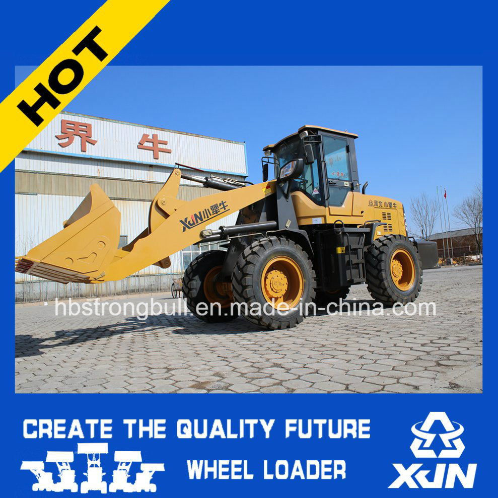 2ton 1m3 Bucket Capacity Wheel Loader Mini Loader Small Dumper Zl33 pictures & photos