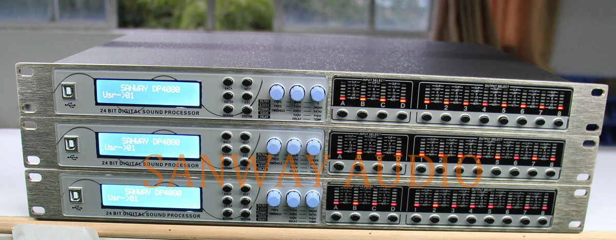 Dp4080 Professional DSP Sound Signal Speaker Processor pictures & photos