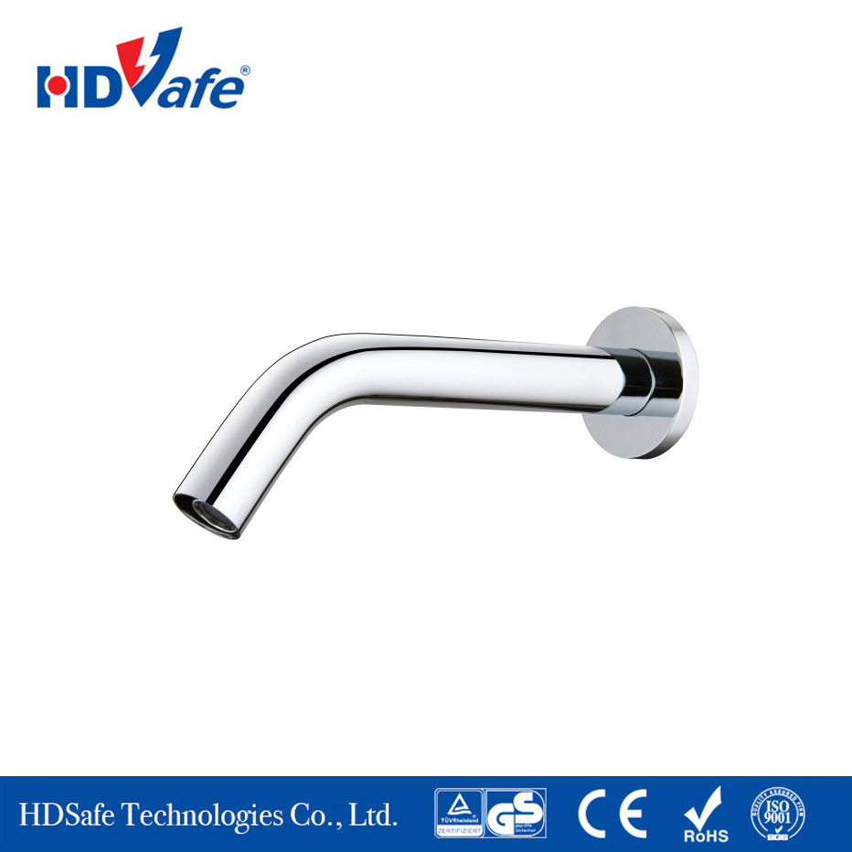 China Factory Bathroom Touchless Auto Brass Wall Mounted Infrared ...