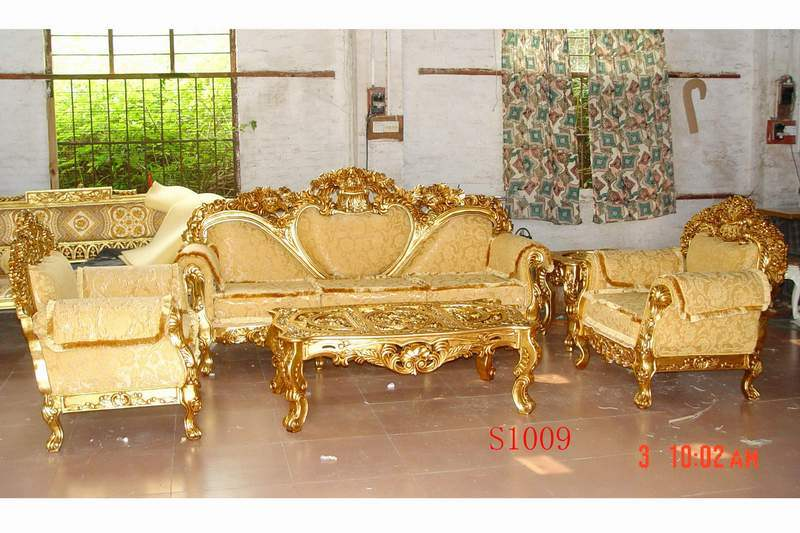 China European Style Rococo Sofa Set Ws10003 China Sofa