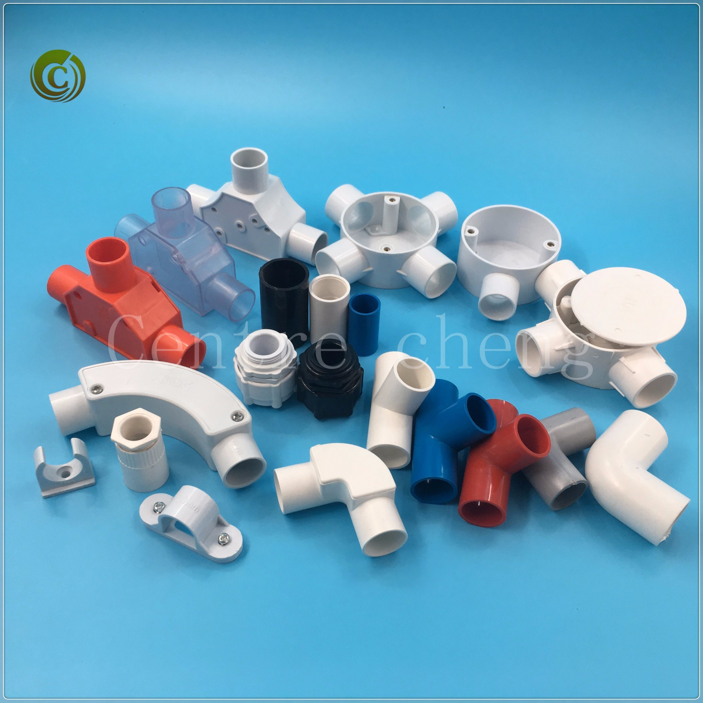 China 2018 PVC Pipe Accessories Angle Bend with Cover Wire Connector ...
