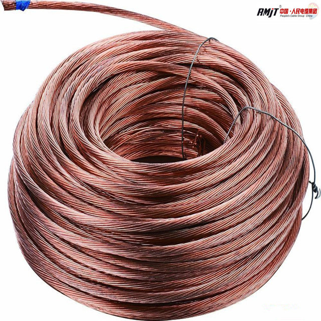 China 70mm2 Bare Teflon Tinned Copper Cable Photos & Pictures - Made