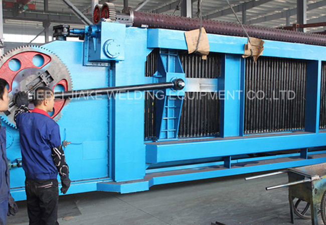 Simens Electronics Automatic Hexagonal Gabion Wire Mesh Machine pictures & photos