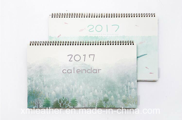 Paper Calendar Desk Calendar Printing 2017 pictures & photos
