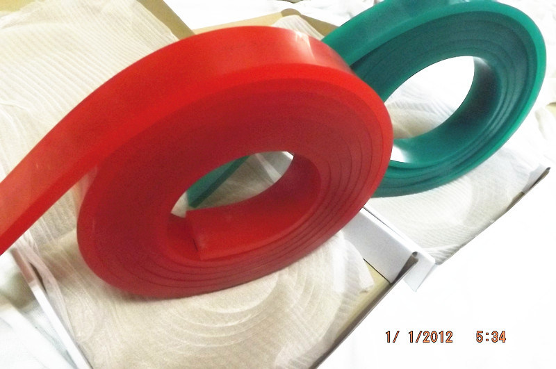 Red 50*9*4000mm Squeegee Blade for Silk Screen Printing Mesh