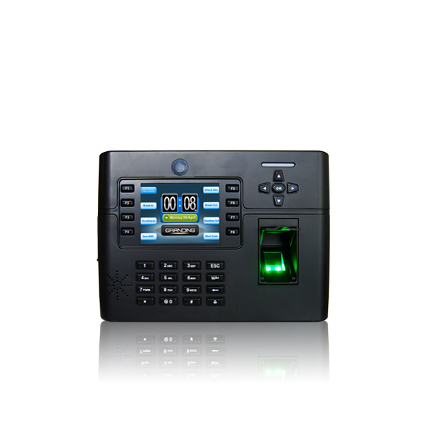 Multi-Media Fingerprint Time Attendance and Access Control with Camera (TFT900)